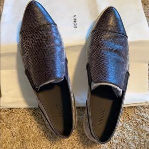 Vince Paeyre Silver Grey Sneaker